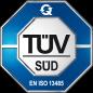 TÜV SÜD DIN EN ISO 13485